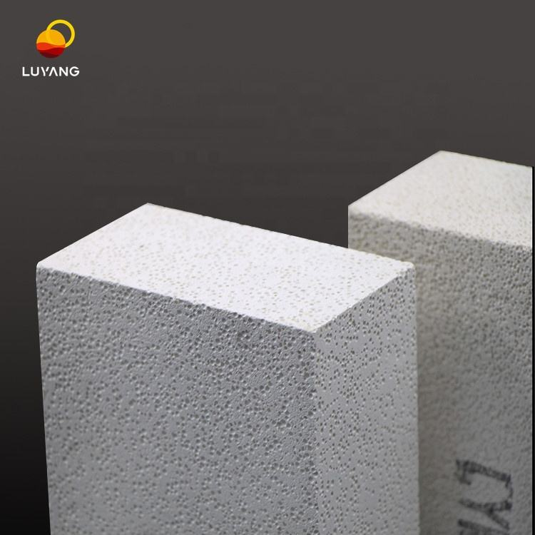 LUYANG 230X114X65mm Pallet+Box Packaging Grade 26 Mullite lightweight insulating refractory Fire brick