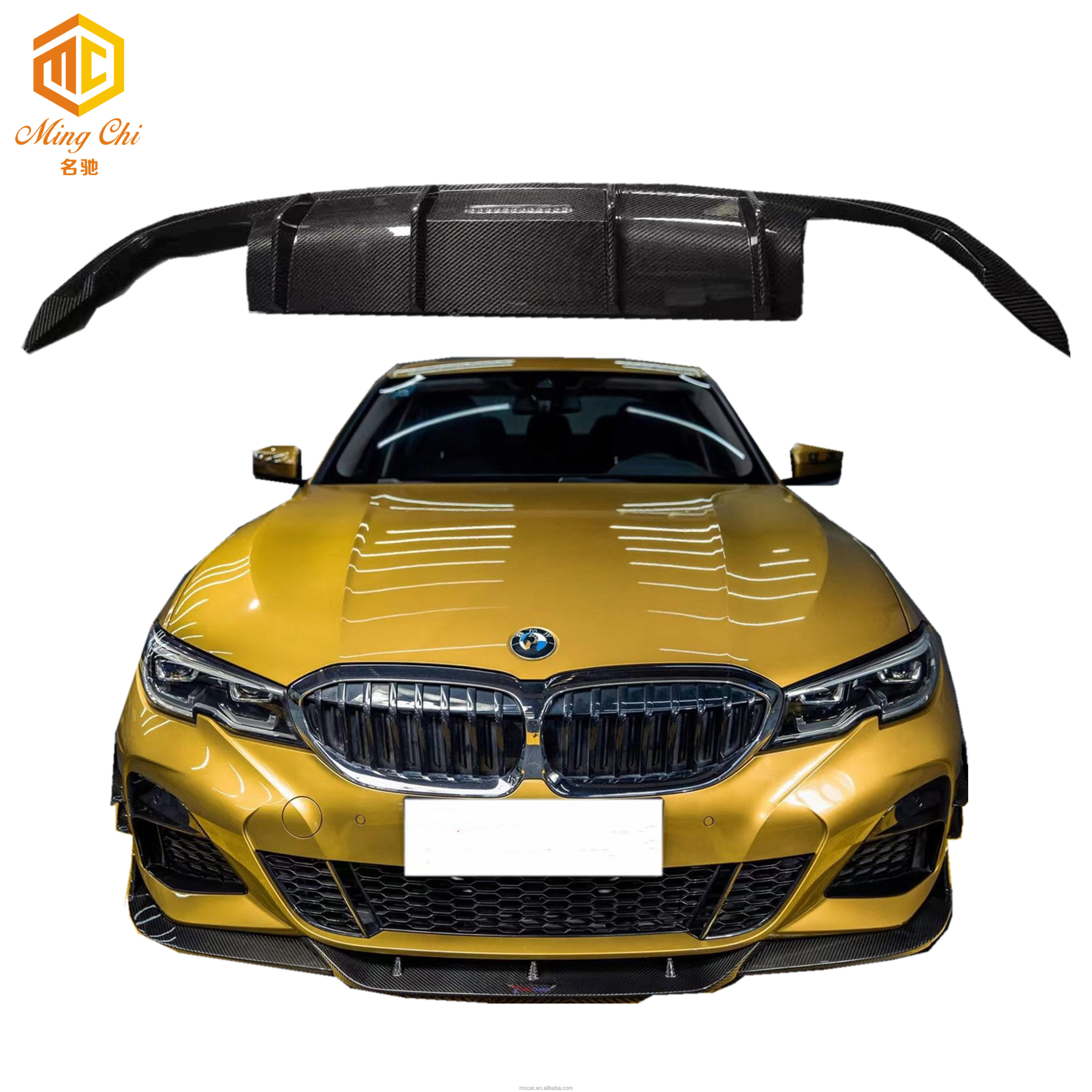 3-series G20 car body kit bumper front lip rear diffuser side skirt BUMPER TRIM debris for BMW 3-Series G20 330I 325I