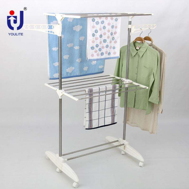Good Selling Drying Magnetic Wall Mounted Clothes Rack Malaysia