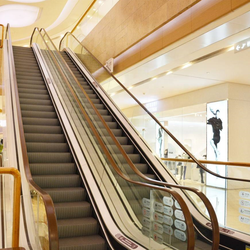 Shopping center good quality passenger escalator and moving walks