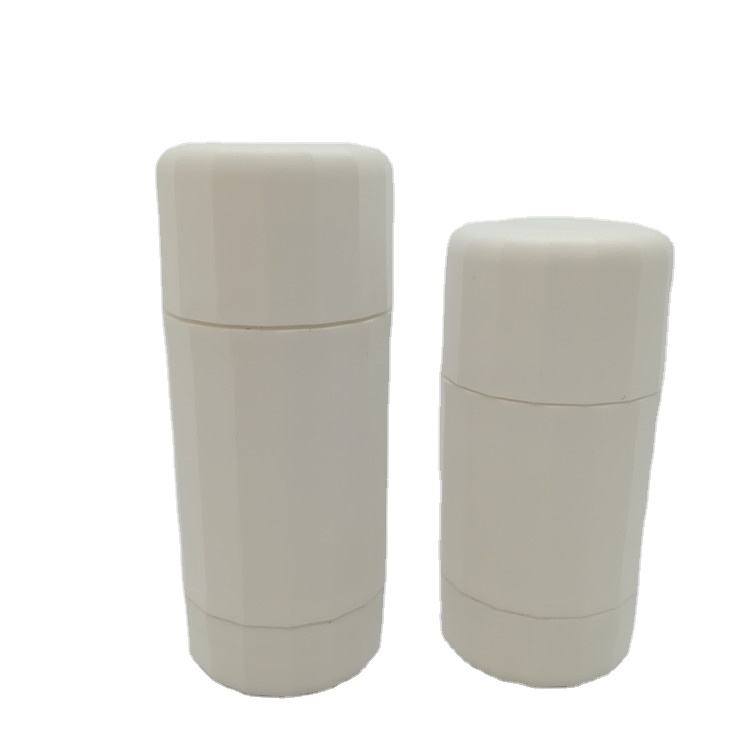 New design white Empty plastic deodorant stick container 50g 75g deodorant container for body skin care