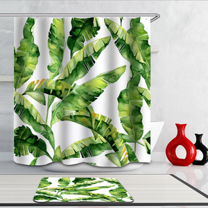 geometric hookless african american liner polyester shower curtain