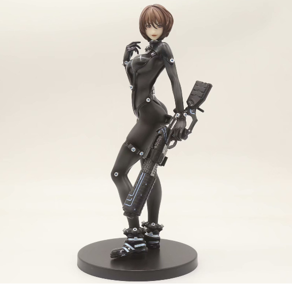 Eterm Japan Comic GANTZ Wife Black Leather Sexy Female Action Figure