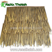 Cheap fireproof artificial thatch roof tiles