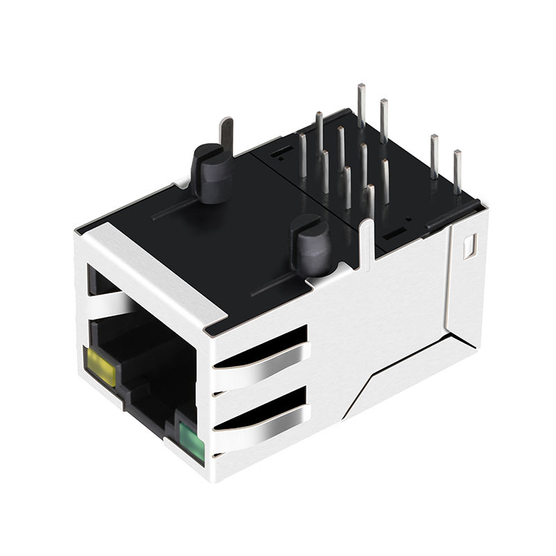 ARJC01-111002L ARJC01-111002T SI-53030-F 10/100 Base-T Connection RJ45 Modular Jack
