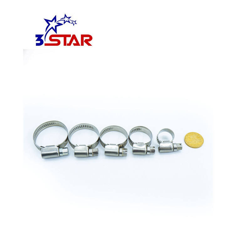 Germany type thermal wear heavy duty strength clamps standard superior automotive hose clamp