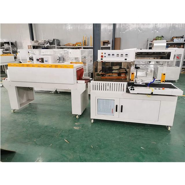 Factory direct sale cut off heat seal oneness packaging equipment automatic heat shrink parceling machine