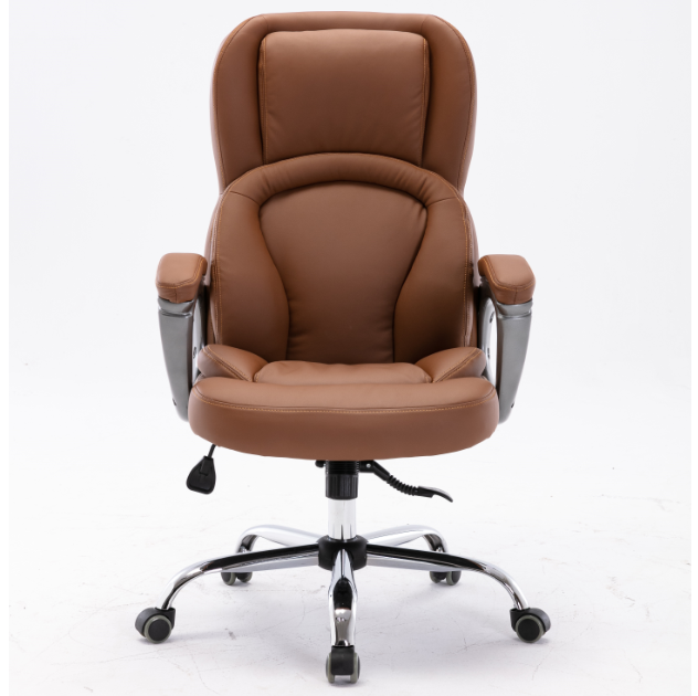 Hot sale MC Office Leather Chair Modern Black Brown Spring Style Funiture Adjustable