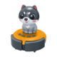 2019 new mini battery induction vacuum cleaner kids ROBOT cleaning sensory novelty toys for desk