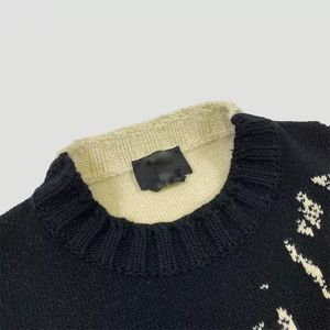 DiZNEW Wholesale Mens Cashmere Jacquard Acrylic Cotton Knit Custom wool Plus Size Sweaters