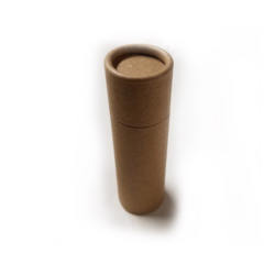Empty Cardboard Deodorant Container - Cylinder Style #1 (2.0 oz)