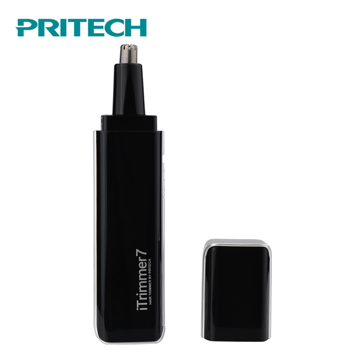 PRITECH Multifunctional Precision Stainless Steel Blade LED Light Designed Men'S Nose Hair Trimmer