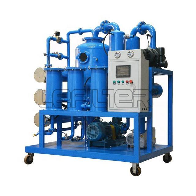 Transformer oil recycle vacuum oil purifier to remove water and dust air