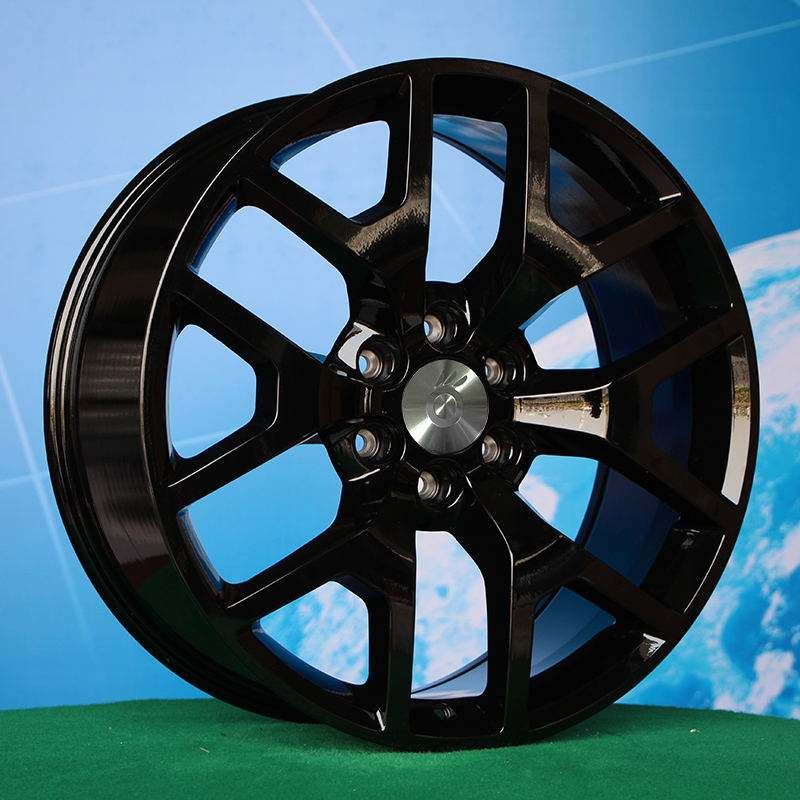20inch 22inch 24inch Luistone manufacture snowflake concave popular alloy replica wheels rims for GMC 6lug 6x139.7 L839
