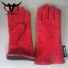 Custom logo fashion kitchen bbq cooking work long hand gloves