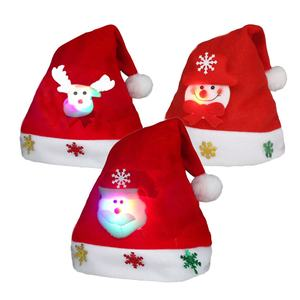 Christmas Decoration Supplies santa clause funy mini christmas hat santa claus hat plain