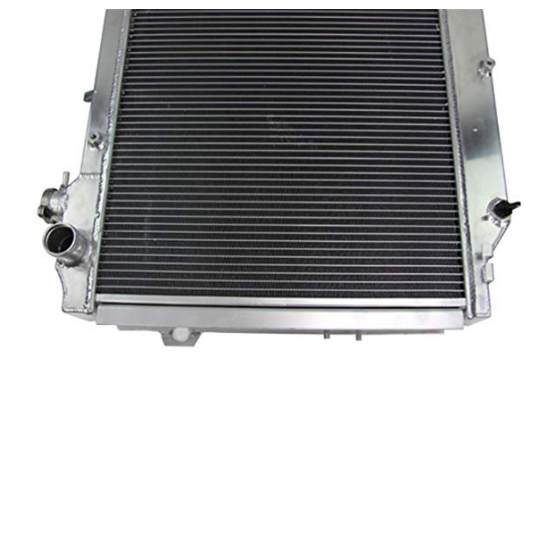 Aluminum radiator for 80 Series Landcruiser 1HZ Diesel /& 1HDT Turbo 90-98 3 rows