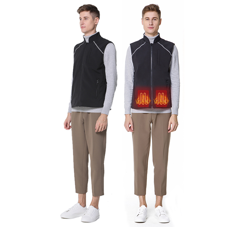 Cold Weather Charging Smart Heated Vest with USB Can be Manual Machine Washed