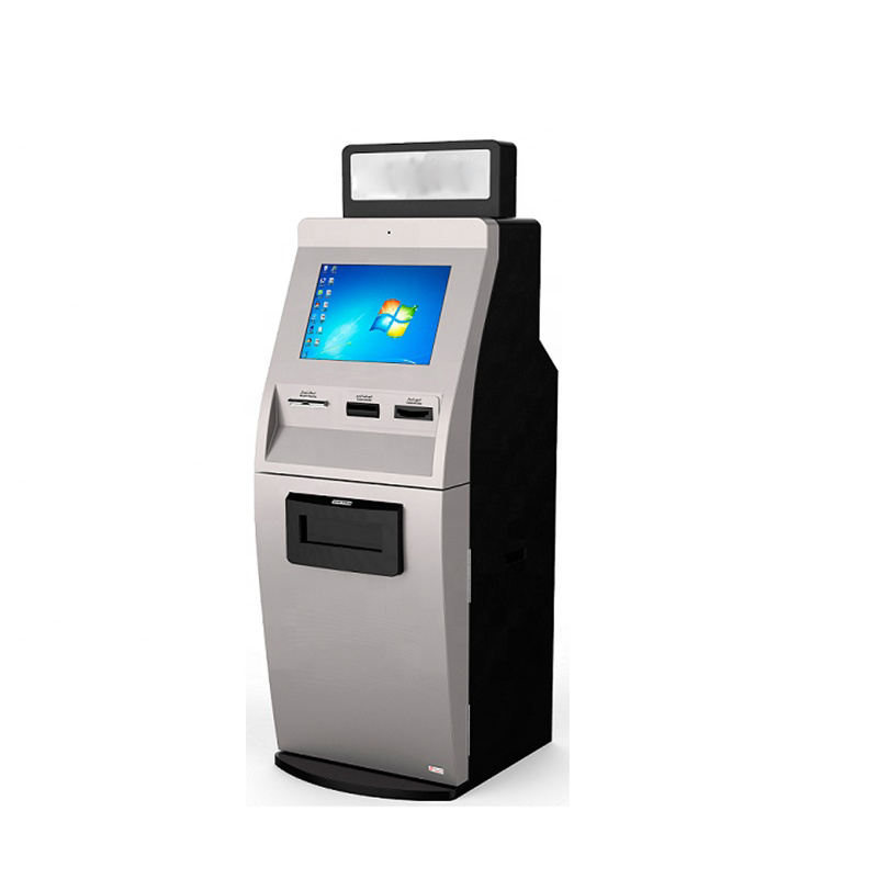 Self Service Cash Register Kiosk with POS Machine