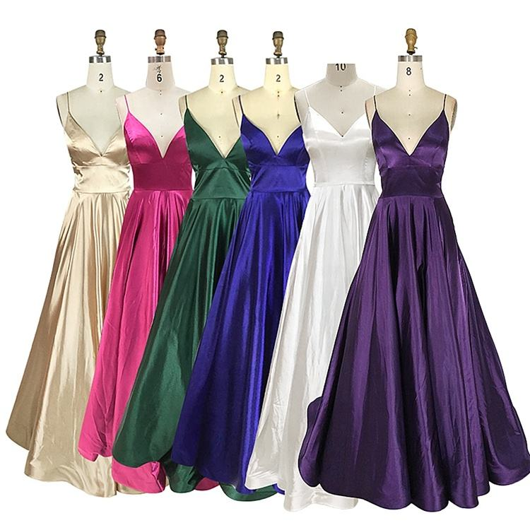 Chaozhou Factory Long Use Party Banquet Evening Dress Long