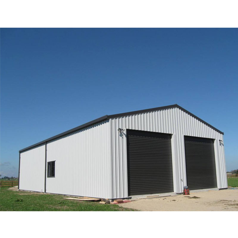 mini storage steel building prefabricated warehouse outdoor storage shed light steel structure warehouse workshop steel framing