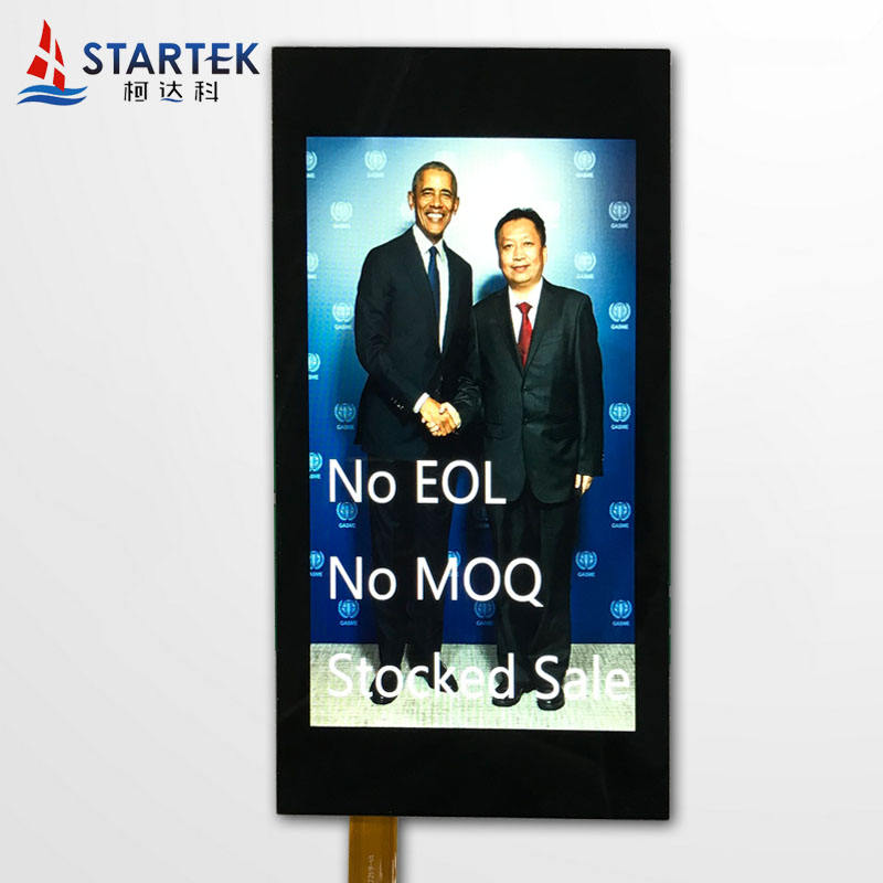 3.5 inch IPS display 320*480 MIPI interface lcd full viewing angle high brightnessTFT LCD with capacitive touch panel