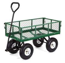 small steel Garden Cart with Removable Sides TC1840