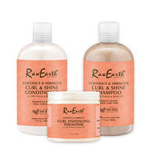 RawEarth professional collagen protein hair shampoo