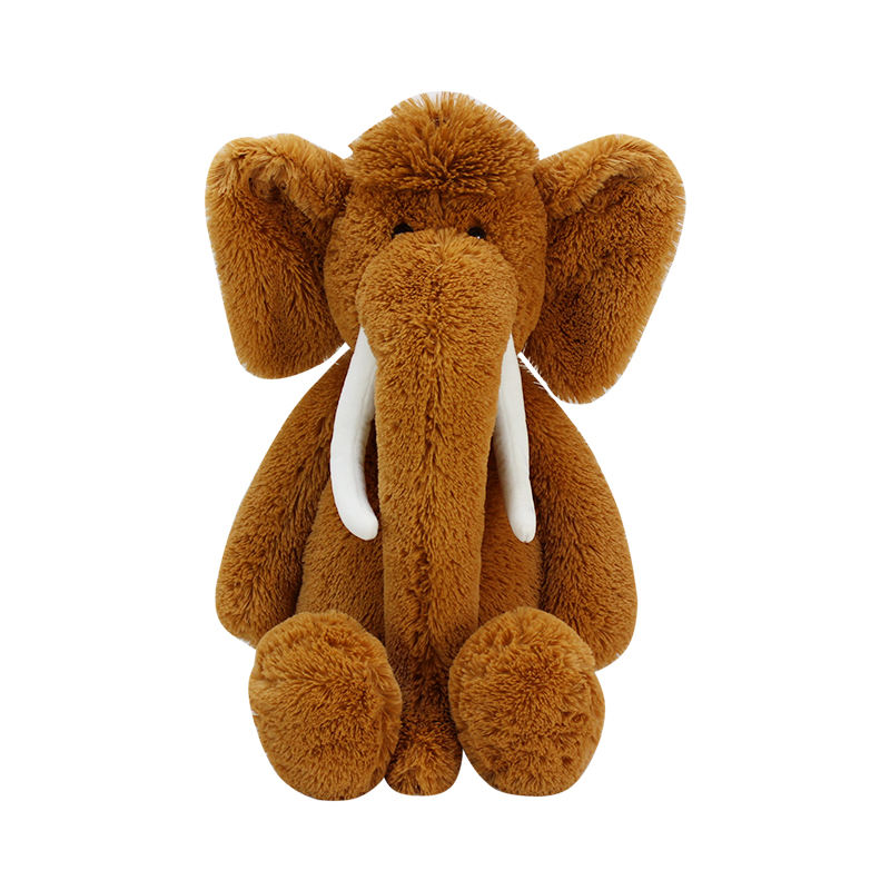 Wholesale The Stuffed Baby Whole Cheap Sleeping Custom Soft Brown Elephant Plush Toy