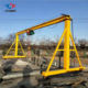 10t Crane Electric Gantry Cranes 10T Electric Small Gantry Crane Machine Without Rail Mounted Light Gantry Crane