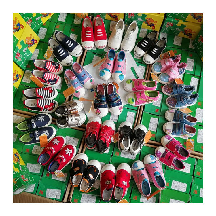 Wholesale canvas toddler baby shoes in bulk baby sport shoes