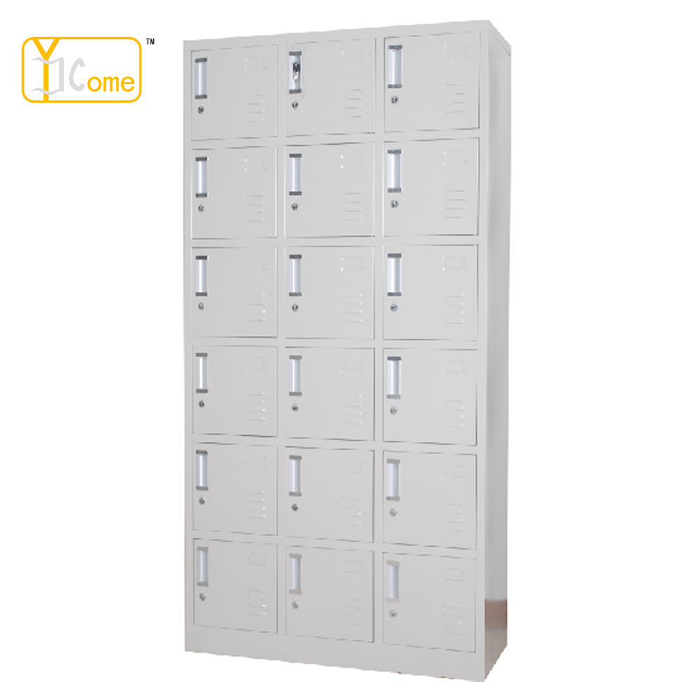 Powder Coated Steel Eighteenth gateway Shoes Cabinet YKM008