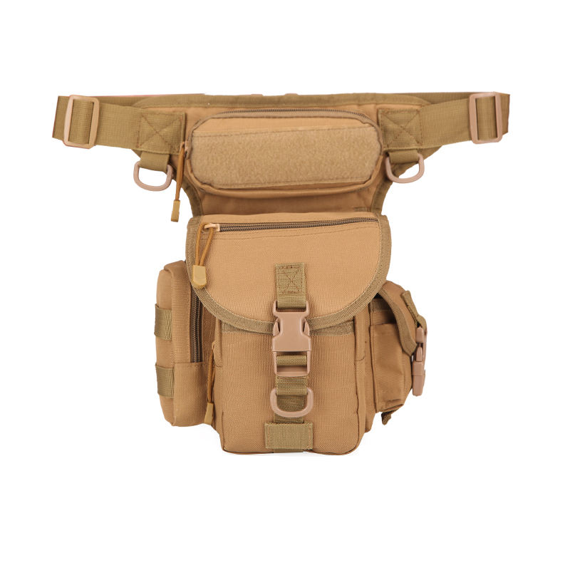bolsa ordinaria de pierna militar bolso de cintura uomo OEM/ODM custom Hiking Waist Fanny Pack Tactical Military Drop Leg Bag