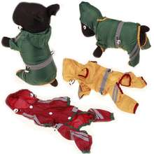 wholesale new cute stylish foldable summer pet clothes raincoat dogs