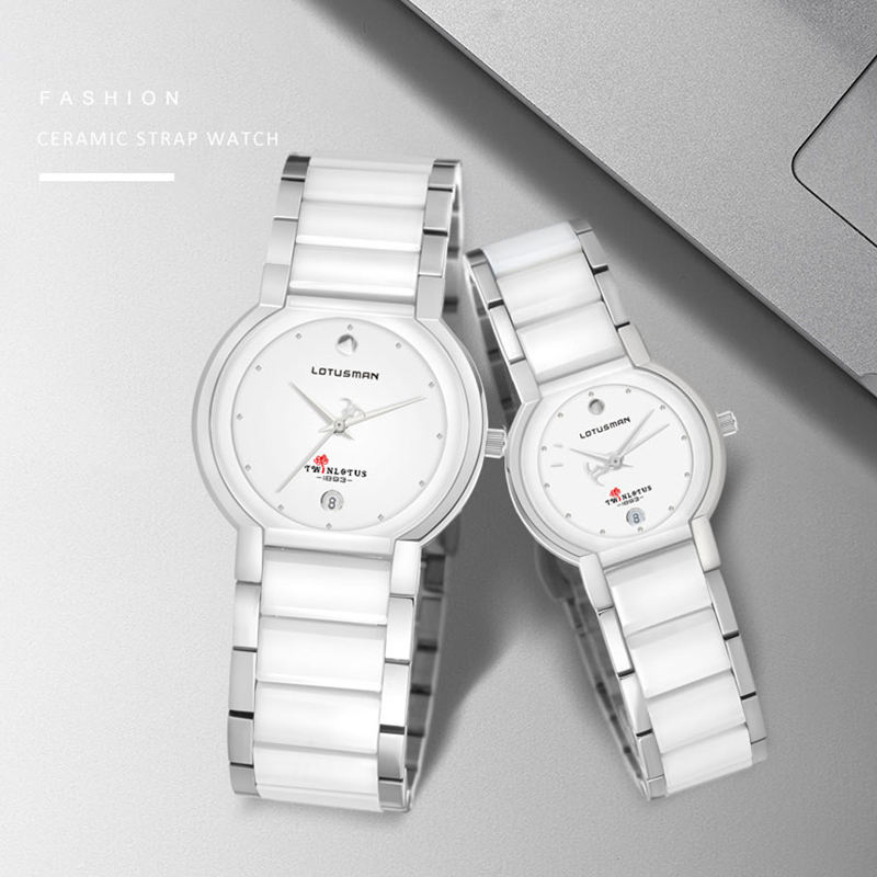 High quality couple watches for birthday gift stainless steel case couple student watches couple watches