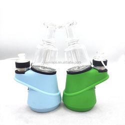 Wholesale 2800mAh TC Battery SOC Kit Wax Ceramic heating Dry Herb Hookah Pen Portable Enail