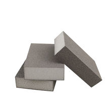 Abrasive Block Aluminium Oxide Foam Emery Sponge Sandpaper For Fine Polishing