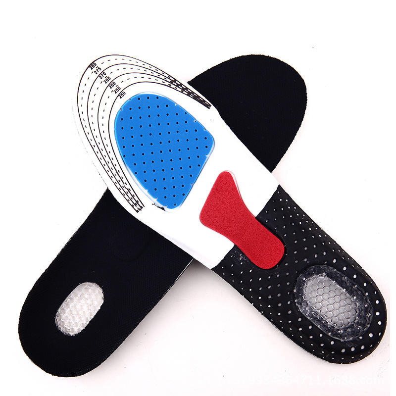 CE certification pvc eva foot massage gel silicone insole