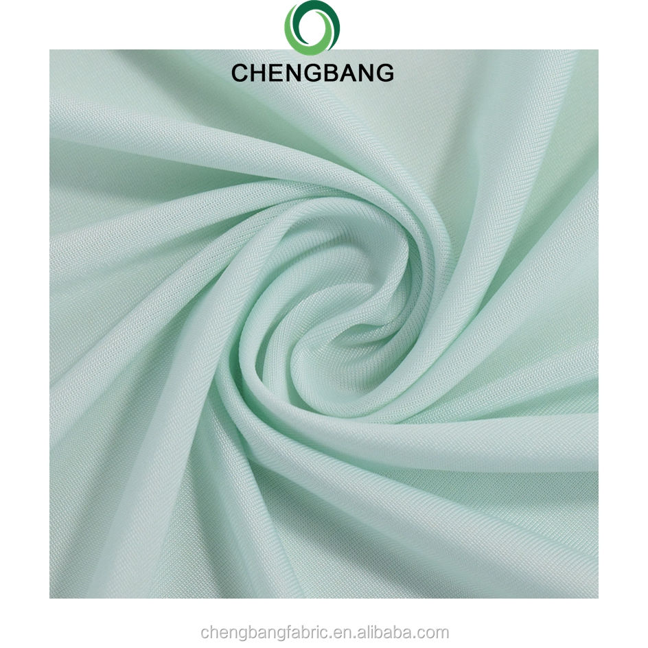 Chengbang Fabric Manufacture Filament polyester spandex 4 way stretch running cycling fabric Protect from the sun, win
