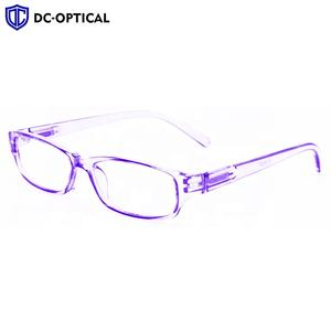 Clear Transparent Reading Glasses Wholesale Plastic Italy Design CE Reading Glasses