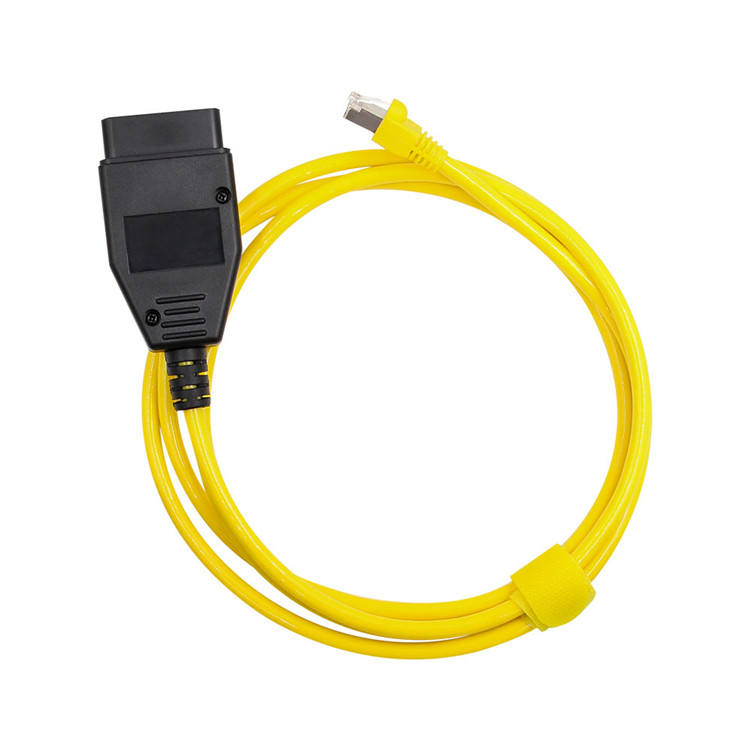 High Quality E-SYS Diagnostic Tool Compatible Brush Hidden Upscale Programming Line OBD2 Ethernet ESYS Cable For BMW