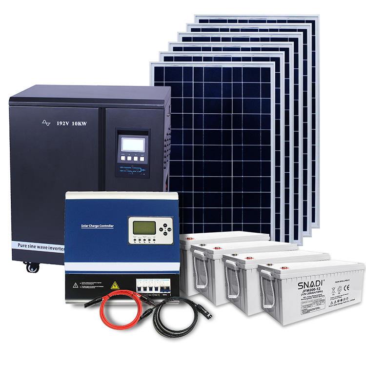 Off grid 10 kw 10000w complete solar kit 10kw 20kw panel solar off grid system