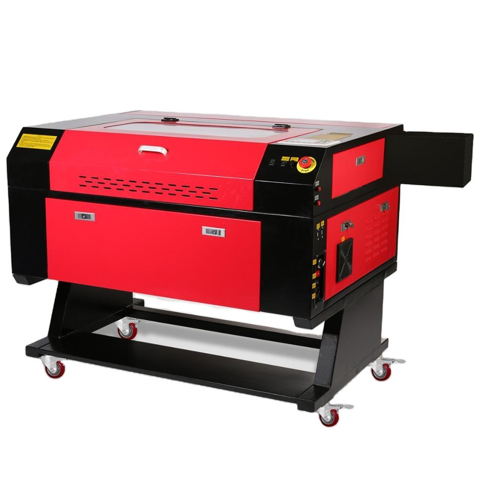 80W 700*500mm CO2 Laser Engraving Machine 3D Laser Cutting Machine from US and Europe warehouse