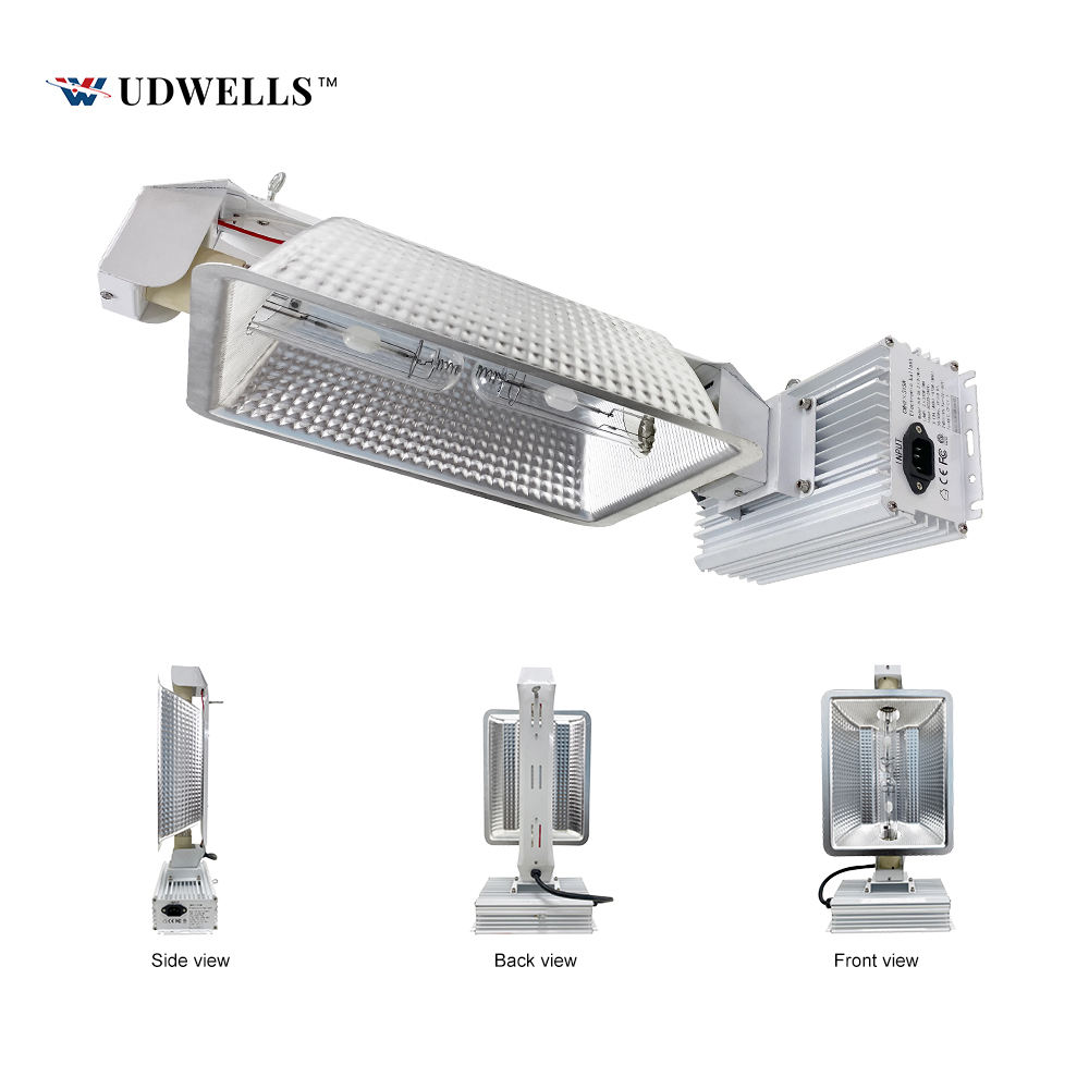 UDWELLS Air Cooled 630W Ballast CMH DE CDM CDL LEC Double Ended Bulb Grow Light Lamp Fixture