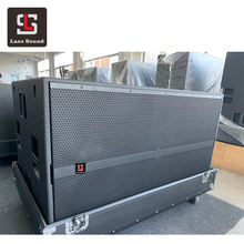 SUB 9006-AS dual 18 inch active high power subwoofer HDL20 rcf line array