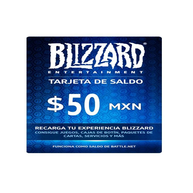 Stock 50US blizzard battle gift card