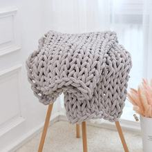 Cable Blanket Breathable Chunky Knit Throw Blanket In Bulk