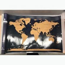 Maps International Scratch The World Travel Map - Scratch Off World Map Poster - Most Detailed Cartography