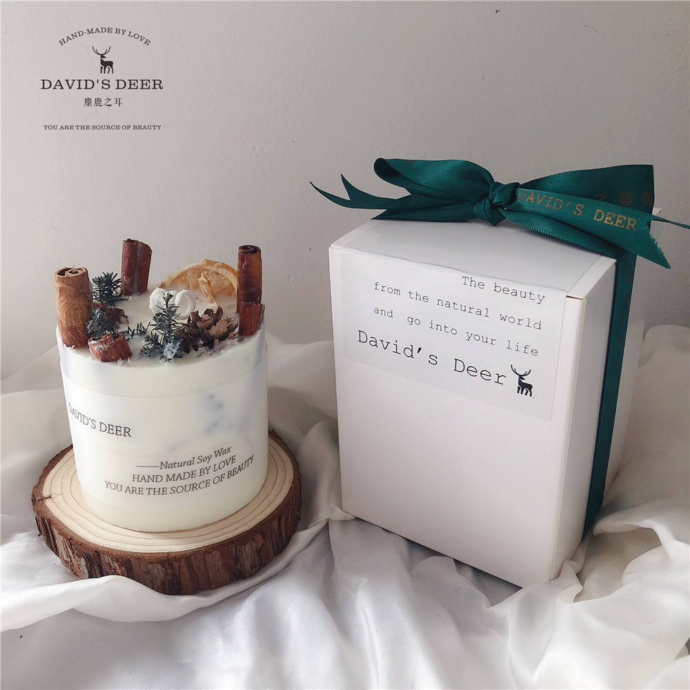 botanical candles crafty soy wax scented candle flower candle gift box