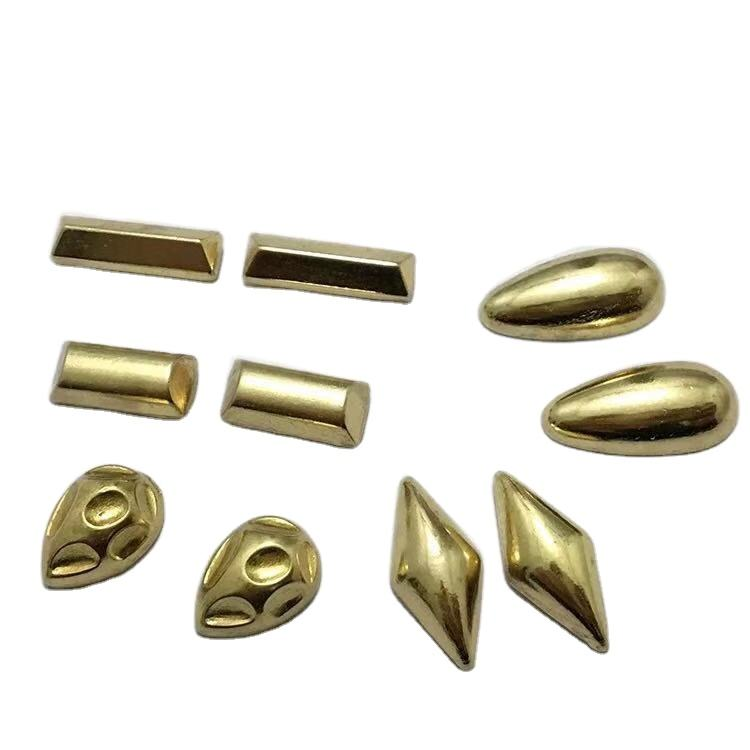 wholesale garment accessories decorations alien brass iron rivet studs for leather bag shoes